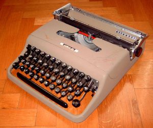 Olivetti from Wikimedia Commons free of copyright